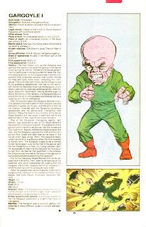 Hombre Gargola (ficha marvel comics)