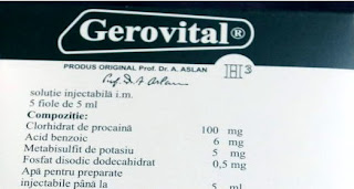 Gerovital H3 Injections/ Solutie Injectabila