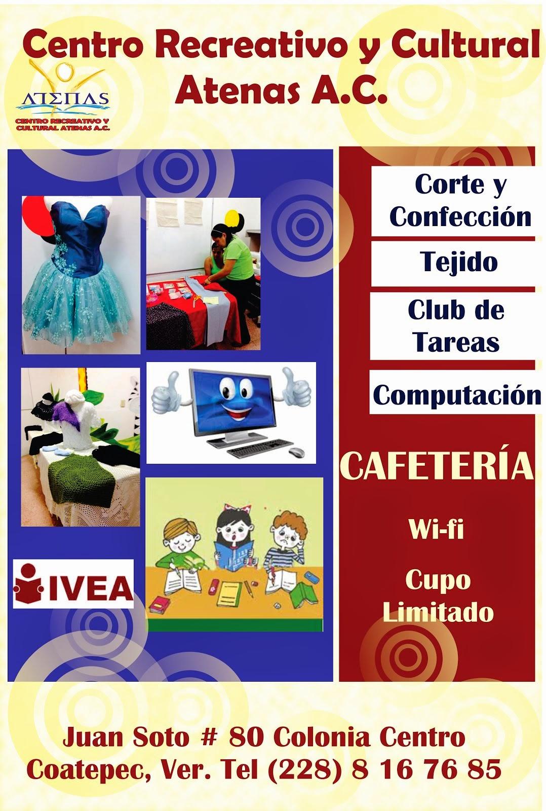 CENTRO RECREATIVO Y CULTURAL ATENAS A.C