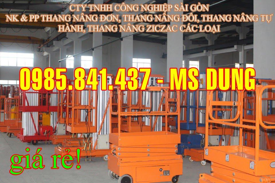 Thang nâng đơn, thang nâng đôi DAG (125kg -300 kg)