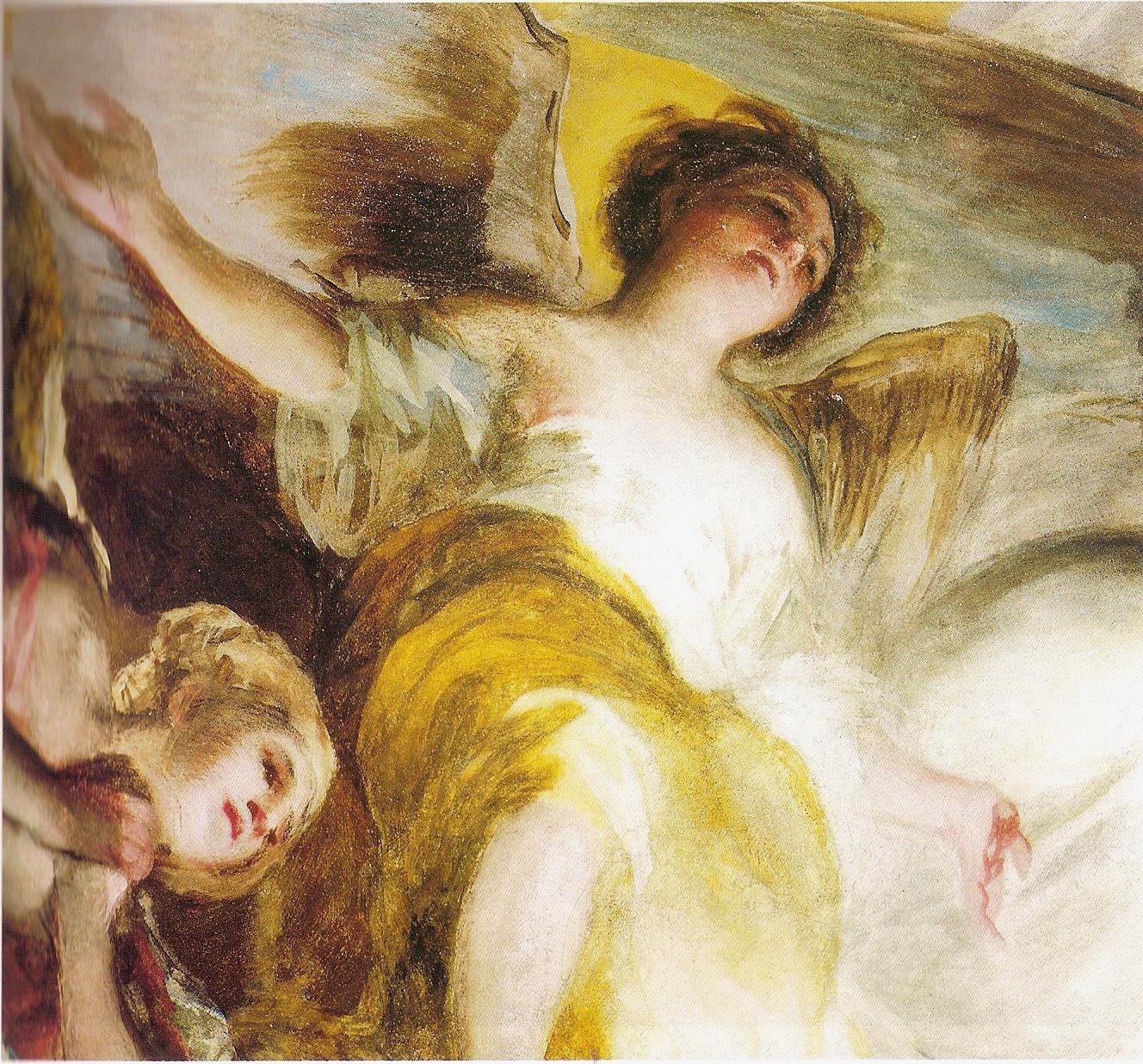 Top senza dedica: Gli angeli di Goya: gli affreschi di San Antonio de  BT11