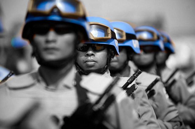 En la Base De Entrenamiento de Infantería de Marina se clausuró el primer curso de Observadores Militares y el primer curso de Operaciones de Paz, realizado por el Centro Conjunto de Operaciones de Paz - CENCOPAZ