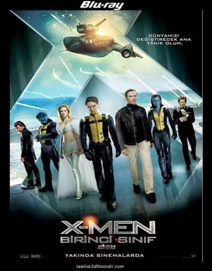 X-Men: Birinci Sınıf (2011) afis