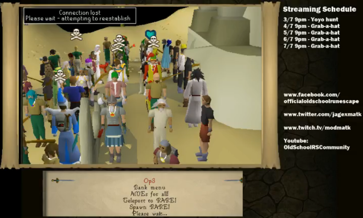 Oldschool Runescape: Party Hat Mania!