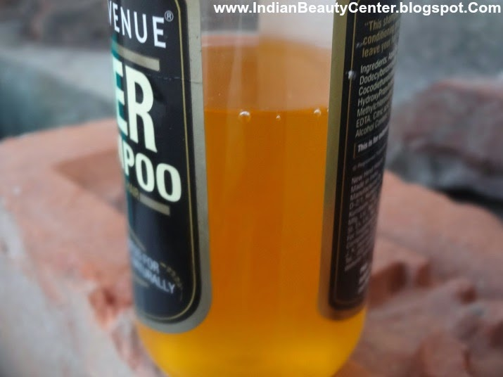 Park Avenue Beer Shampoo Review Ingredients