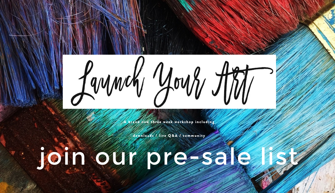 LAUNCH YOUR ART