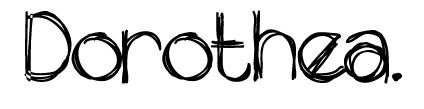 DOROTHEA | por Renata Peppl