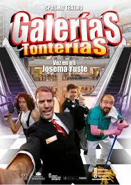 PRÓXIMA ACTUACIÓN: SPASMO TEATRO CON GALERIAS TONTERIAS