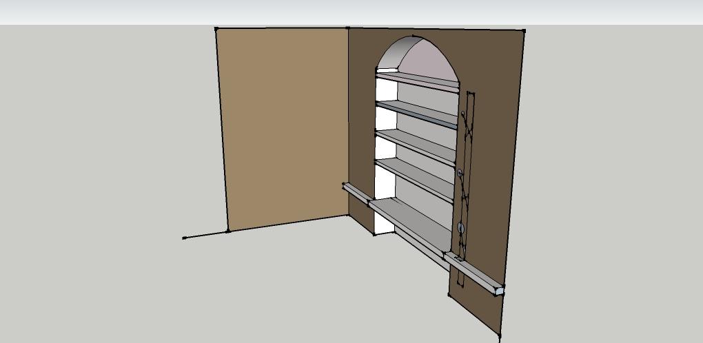 Alfredo calogero interiors designer architetture di - Parete attrezzata in muratura ...