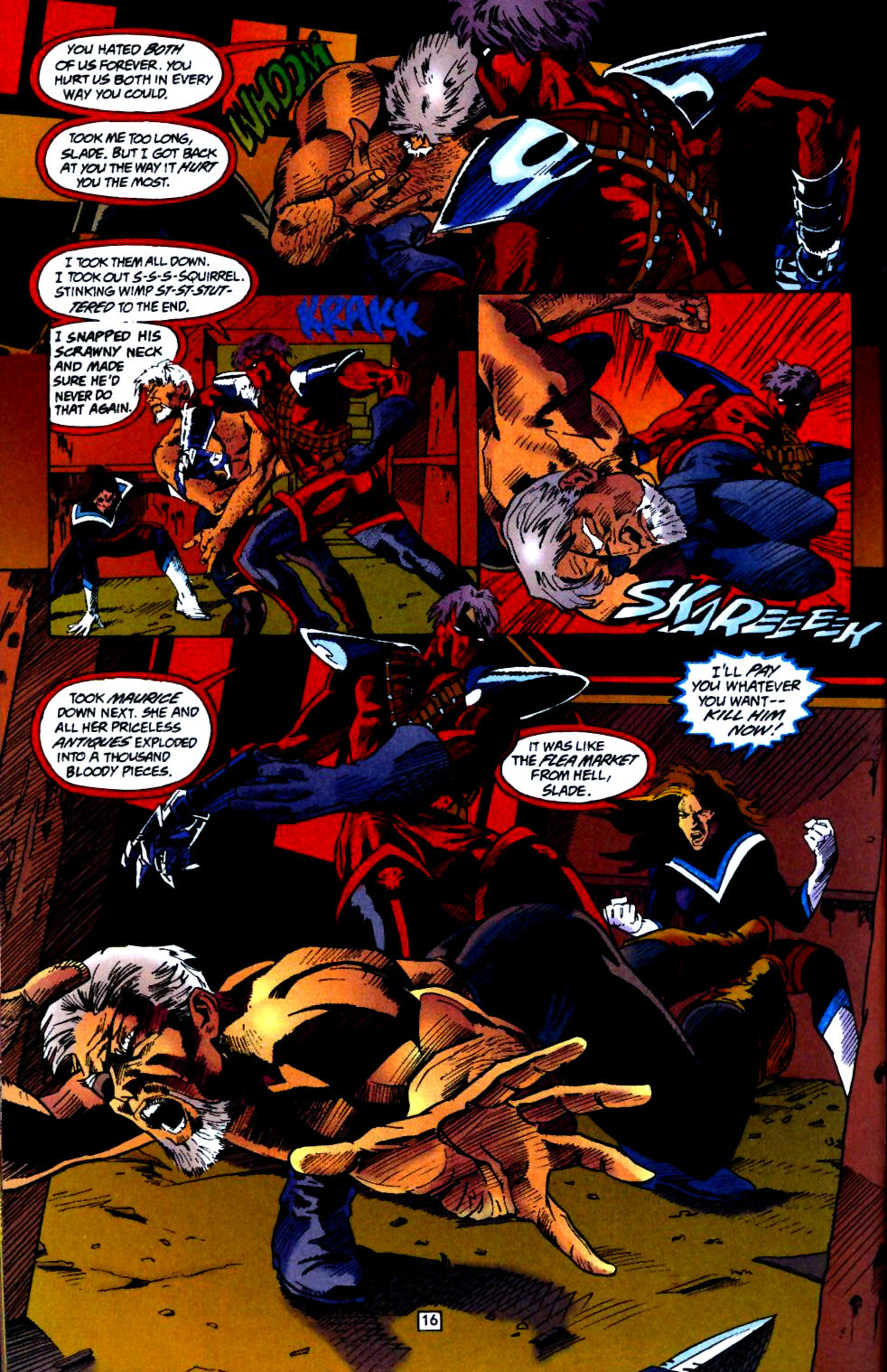 Deathstroke (1991) Annual 4 #4 - English 17