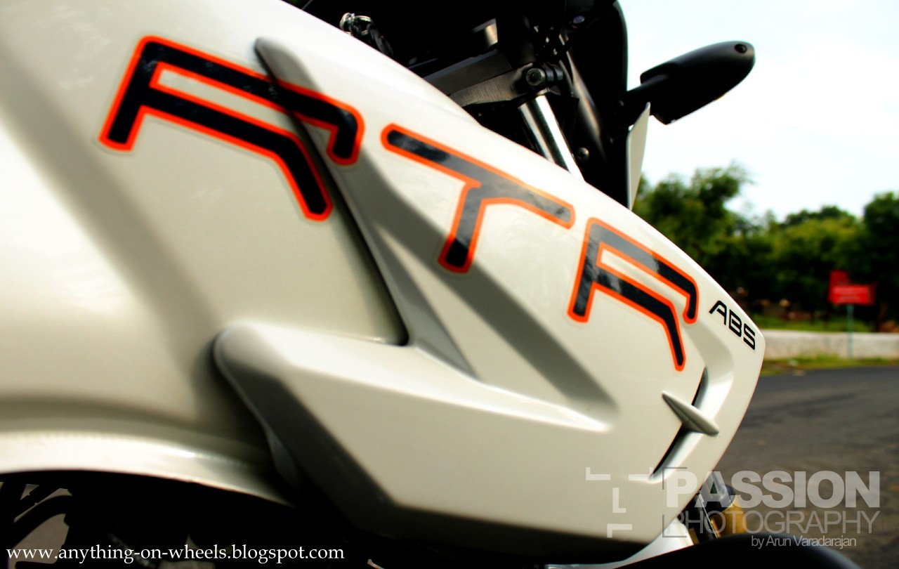 Anything On Wheels Driven 6 Tvs Apache Rtr 180 Abs
