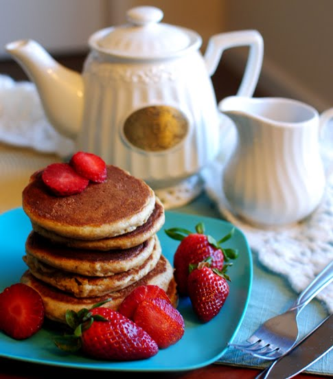 Breakfast wedding food menu ideas Gluten Free Almond Pancakes
