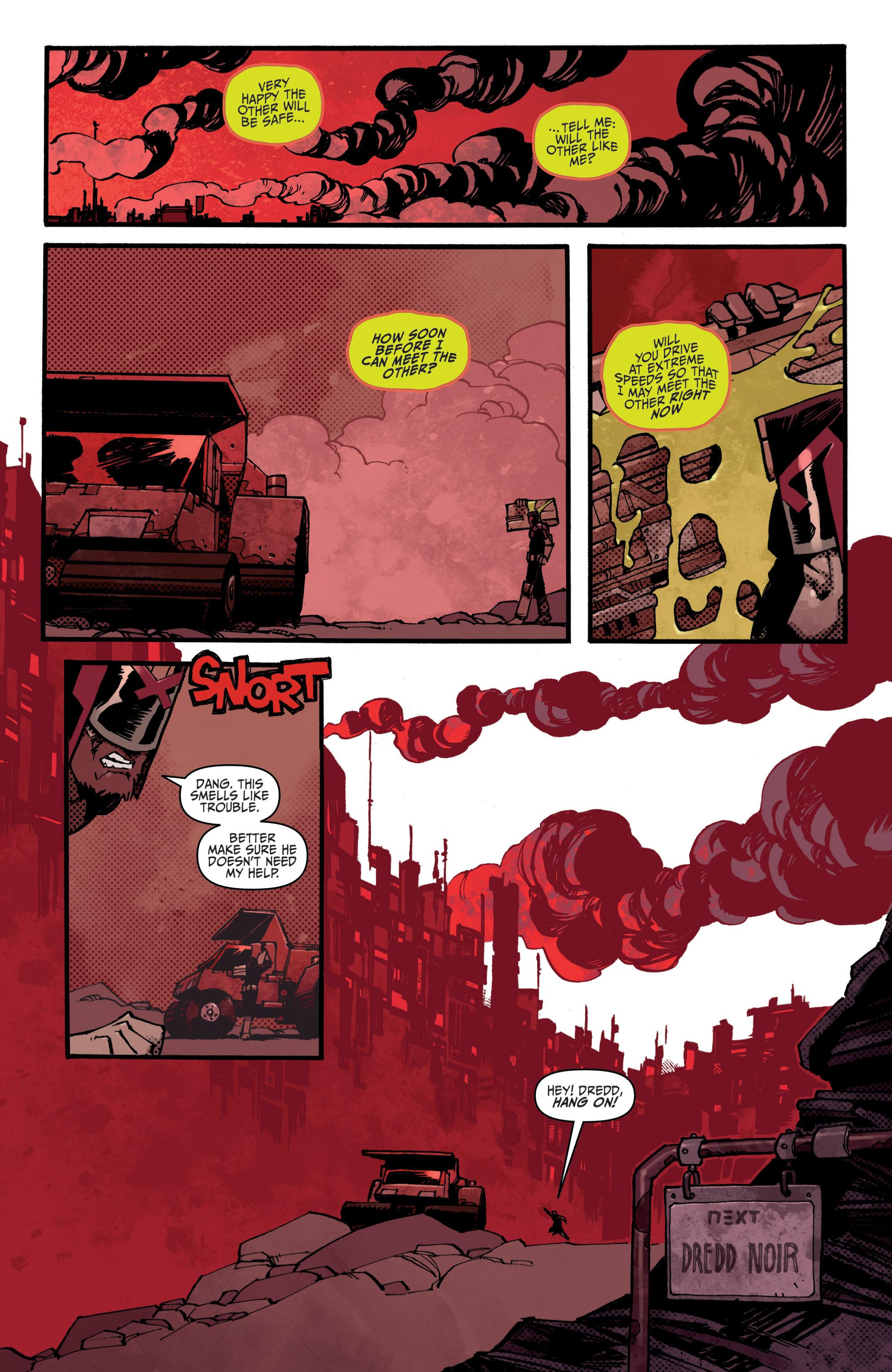 Read online Judge Dredd (2012) comic -  Issue # _TPB 3 - 92