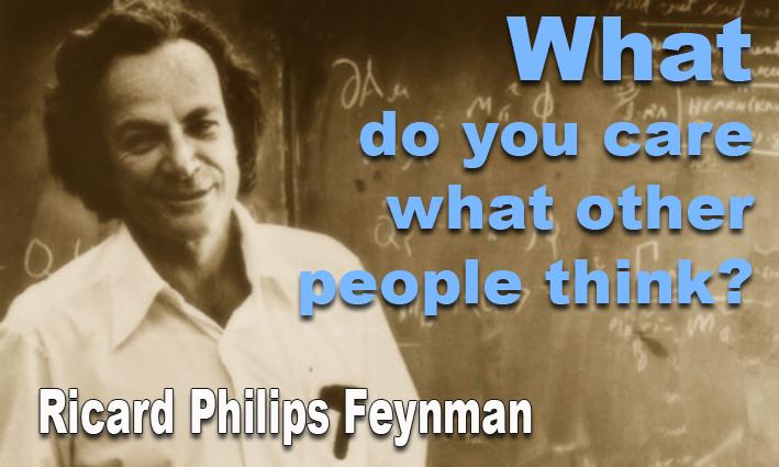 Feynman menjadikan fisika sebagai permainan