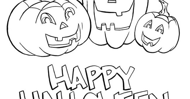 h is for halloween coloring pages - photo #36