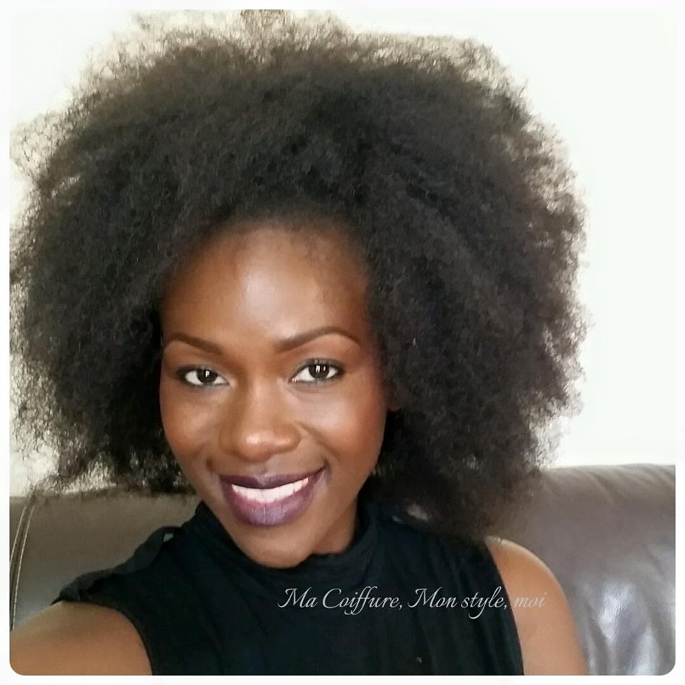 Crochet Braid Fa 231 On Afro Sandrine Hair