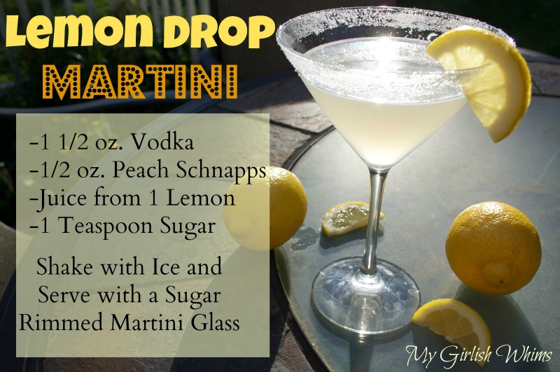 Lemon Drop Drink Recipe