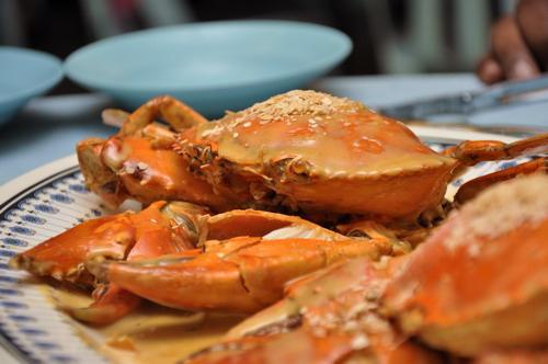 Marmite crab recipe