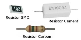 Macam-macam Resistor Tetap