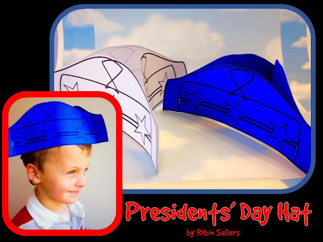 Sweet tea classroom presidents day hat paper craft presidents day make a three cornered colonial hat this presidents day pronofoot35fo Image collections