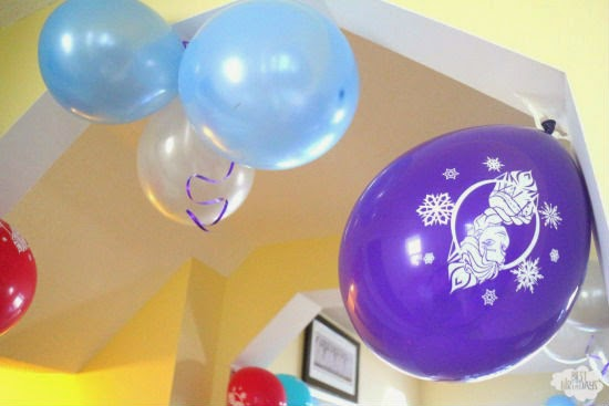 Easy Frozen Party (on a Budget): ideas for decorations, activities, and food!  via Best Birthdays