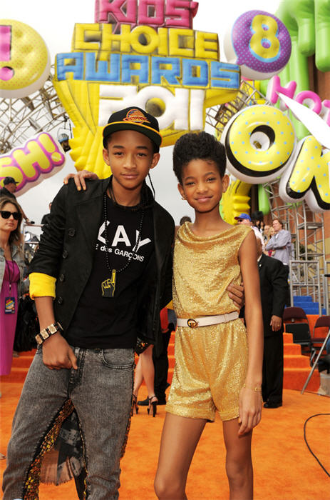 will smith kids 2011. images will smith kids choice