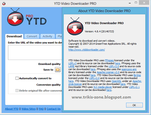 Download YTD Video Downloader Pro 4.8.4 Full Patch