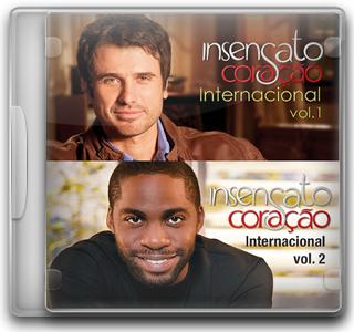 Capa CD Insensato Coração – Internacional   Vol. 1 & Vol. 2