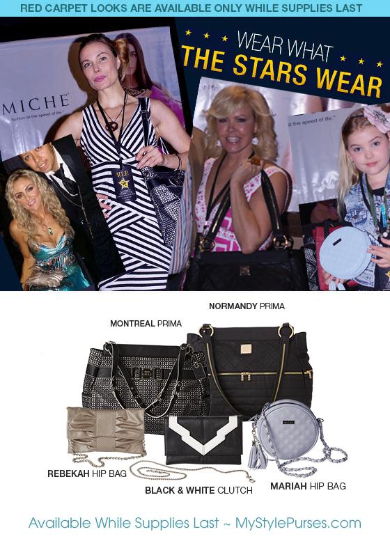 Wear What the Stars Wear - Handbags by Miche | Shop MyStylePurses.com