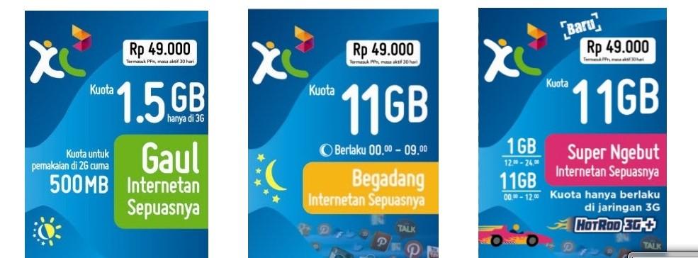 paket internet XL terbaru 2014