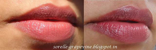 Revlon Just Bitten Kissable Lip Stain Honey Lip swatch