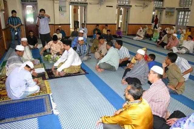 akad nikah dalam masjid