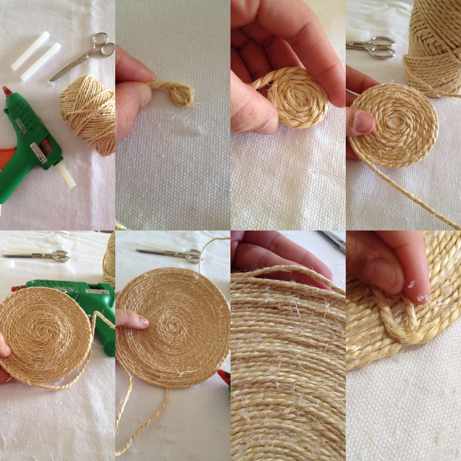 Diymaniacas noviembre diy con cuerdas - Decoracion con cuerdas ...