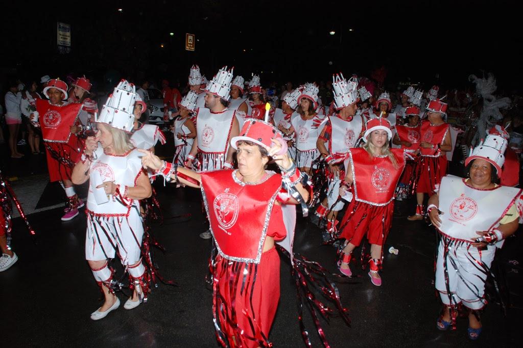 Enredo do Bebe Rindo em 2014 mesclou letras de marchinhas tradicionais do Carnaval