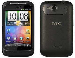 HTC Wildfire S Android Murah Kamera 5 MP Harga 1 Jutaan