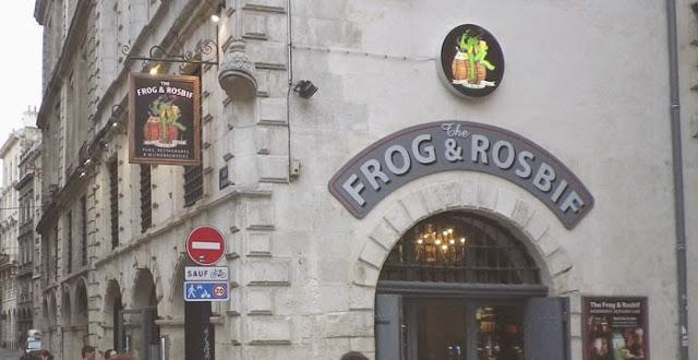 Frog and Rosbif bordeaux