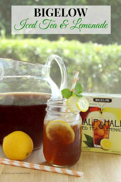 Bigelow Iced Tea & Lemonade from LoveandConfections.com #MeAndMyTea