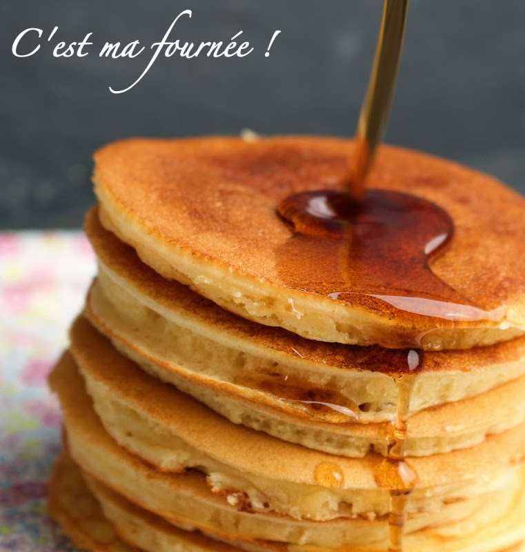 "est ma fournée !: The ""old fashioned pancakes"" by Martha Stewart"