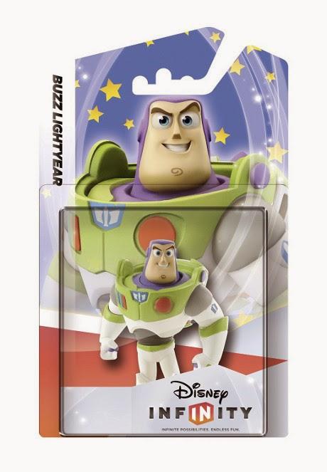 JUGUETES - DISNEY Infinity 1.0  Figura Buzz Lightyear : Toy Story   (6 Febrero 2015) Muñeco | Videojuegos Producto Oficial | A partir de 7 años Xbox One, PlayStation 4, Nintendo Wii U, PlayStation 3, Xbox 360