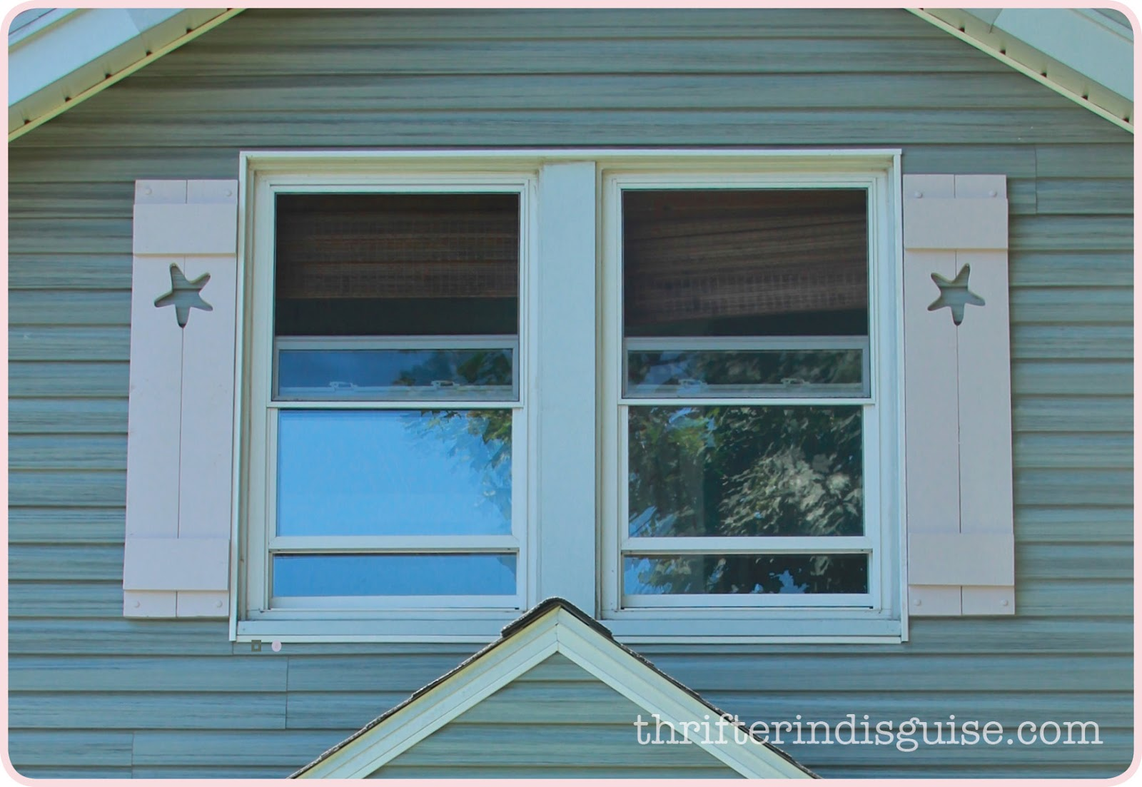 A Thrifter In Disguise Diy Custom Wood Cape Cod Style Shutters