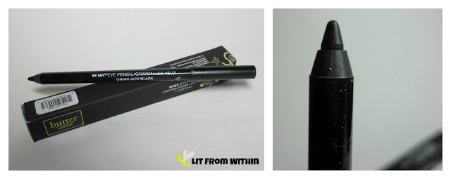 Butter London's Wink eyeliner pencil in Union Jack Black