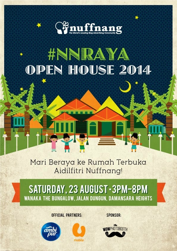 Mari Beraya ke Nuffnang Open House 2014 NNRaya