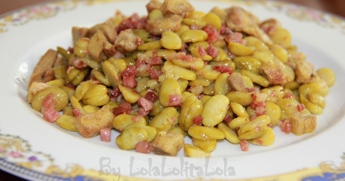 Habitas con jamon y foie for Cocinar habas con jamon