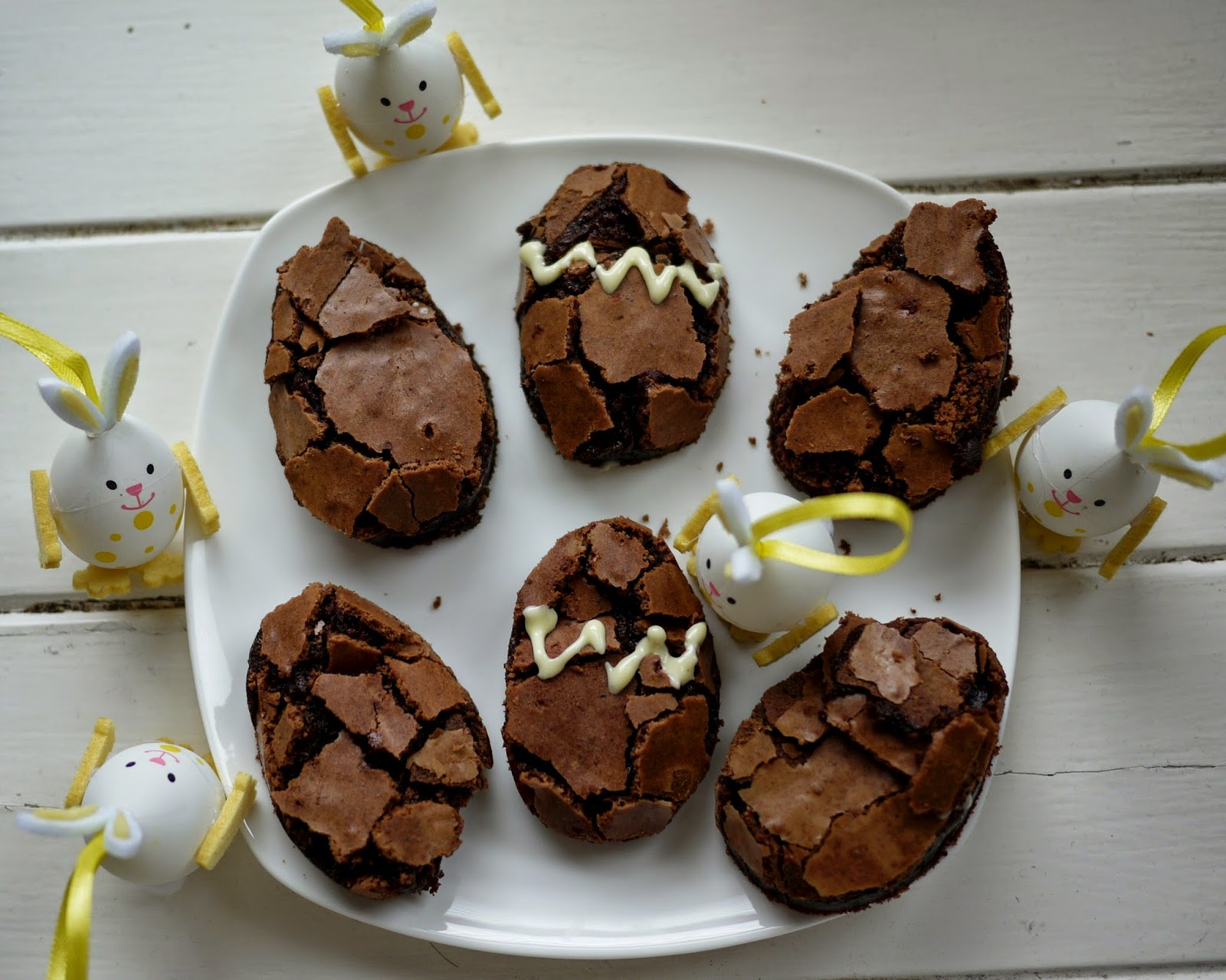 What kate bakedd baby easter egg brownies with waitrose goodegg easter egg brownies with waitrose goodegg negle Image collections