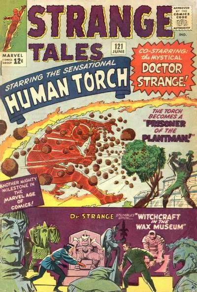 Strange Tales #121, Human Torch and the Plantman