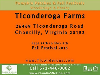 Pumpkin Patches near Woodbridge Virginia 2015 Ticonderoga Farms Chantilly Va