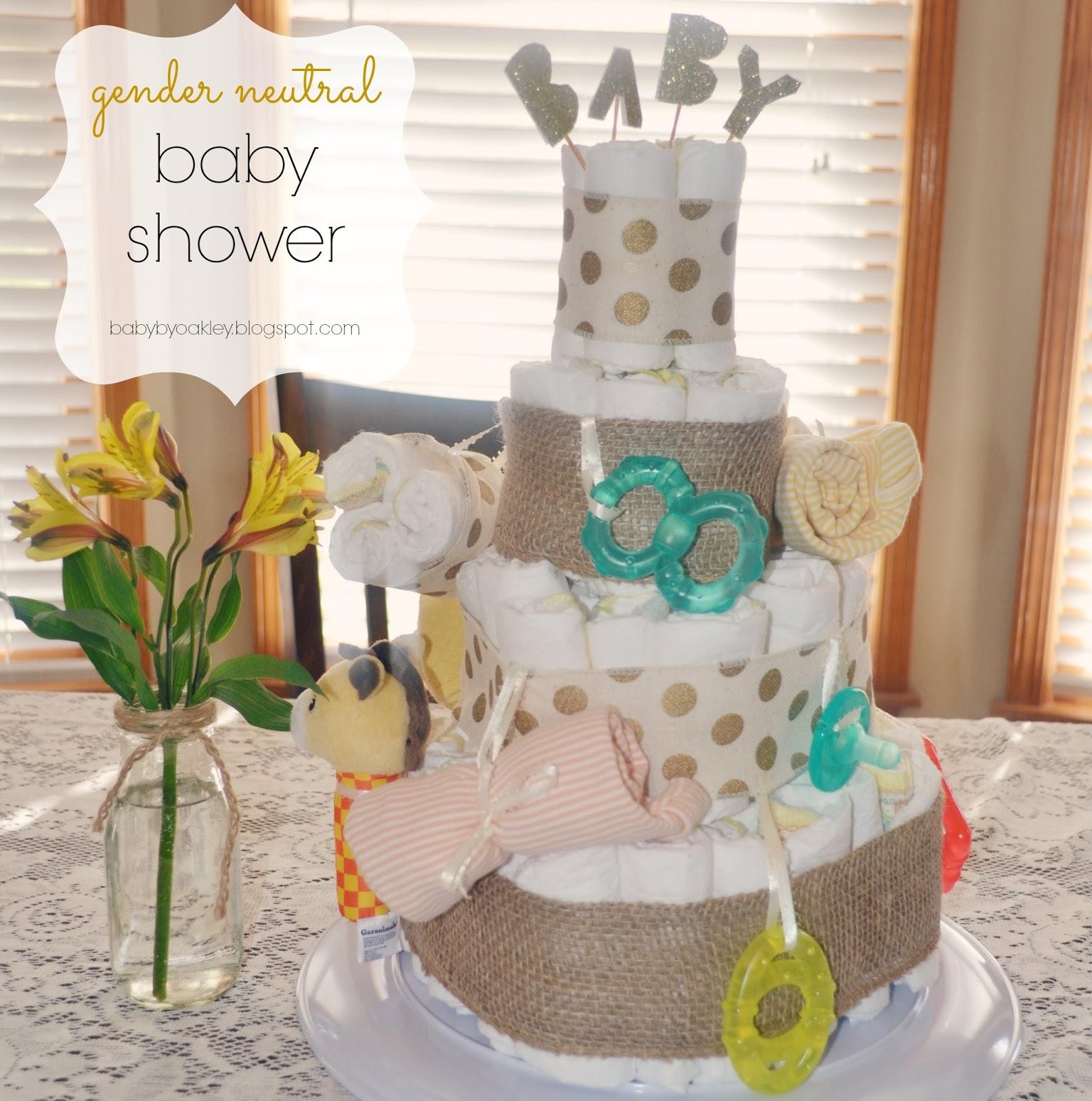 Gender Neutral {Baby Shower}