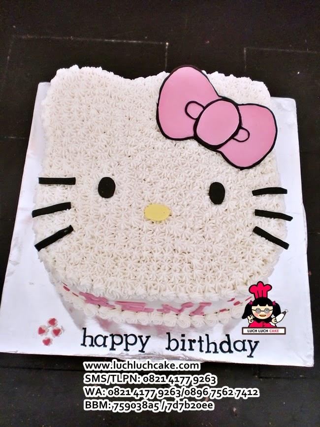 Hello Kitty 3D Birthday Tart Daerah Surabaya - Sidoarjo