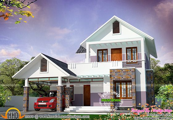 Simple Kerala home design