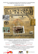 """Exposición """"La dictadura de Franco. Cuarenta años de represión"""""""